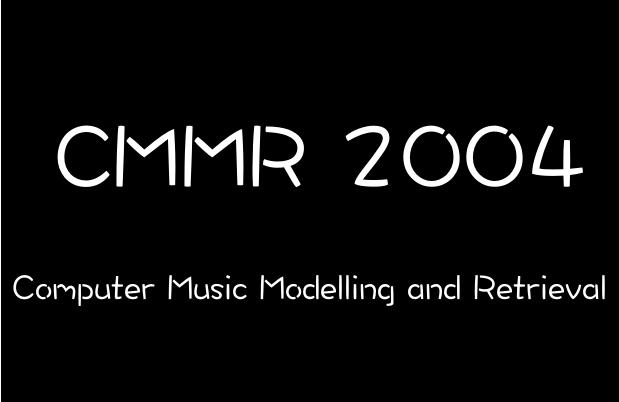 CMMR 2004