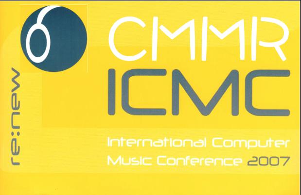 CMMR/ICMC 2007