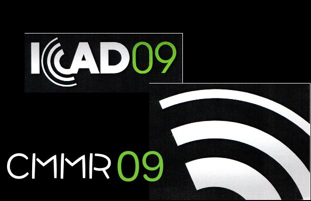 CMMR/ICAD 2009